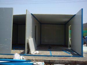 دیوار پیش ساخته - مشخصات فنی دیوار پیش ساخته سوله | پانل ...
