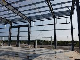 سقف عرشه فولادی در اسکلت فلزی