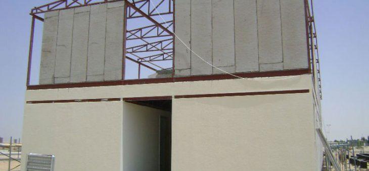 ساختمان پیش ساخته (کاربرد مصالح نوین) | ساندویچ پانل
